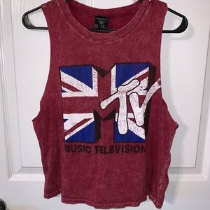 MTV T-shirt Tank